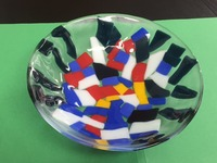 JESPY Shop Fused Glass Decorative Bowl - Medium