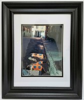 JESPY Shop Photographic Print - House Reflection